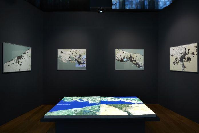 ENSA-M, La Fabrique du territoire, 2017 - Exposition Connectivités Nov 2017 (c) François Deladerriere