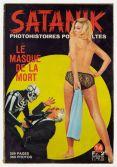 Couverture de Satanik n° 14 Le Masque de la mort , France, 1967. Collection particulière. Cliché: © Josselin Rocher
