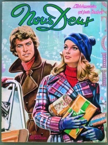 Couverture du magazine Nous Deux n° 1277, 1971 © Nous Deux