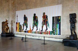 Abdoulaye Konaté, Les marcheurs, 2006 - Les Eclaireurs. Grand Tinel, Palais des Papes