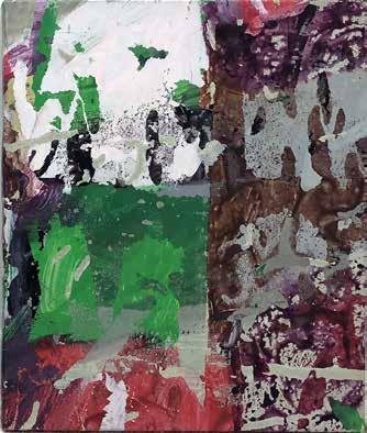 André-Pierre Arnal, Sans titre, 1989 Techniques mixtes sur toile, 41 cm x 36 cm