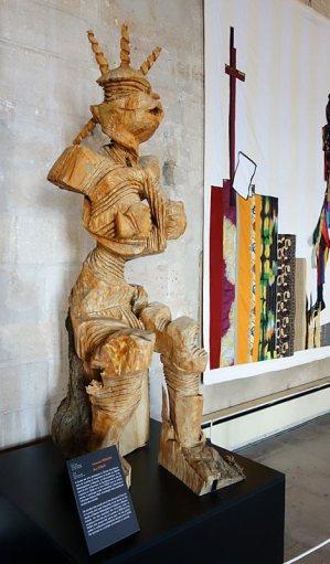 Antonio Mbozo aka Toko, Le cri, 2011. Les Eclaireurs - Grand Tinel, Palais des Papes