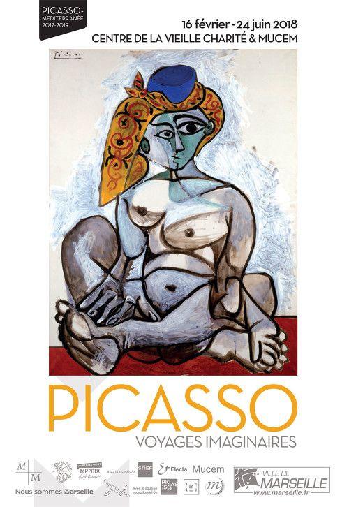 Exposition Picasso Voyages imaginaires. La Vieille Charité Marseille