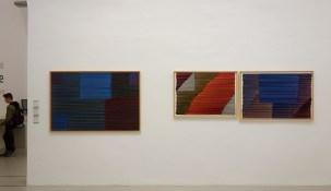 Jean-Michel Meurice, Boukhara, 1981 - Boukhara 01, 1981 et Boukhara 10, 1982 - Parcours 1956-2018 au Musée Fabre