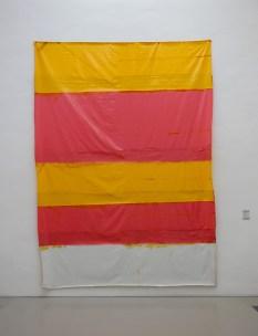 Jean-Michel Meurice, Vinyl rose jaune blanc, 1968 - Parcours 1956-2018 au Musée Fabre