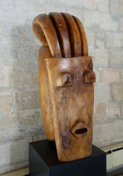 Jems Robert Kokobi, Féminité, 2007. Les Eclaireurs - Grand Tinel, Palais des Papes