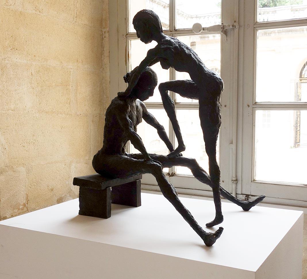 Ousmane Sow, Les scènes de mariage, 2006. Les Eclaireurs - Musée Calvet