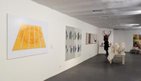 Vue de l'exposition art-cade x 25 ans- Part II. Art-cade, Galerie des grands bains douches de la plaine