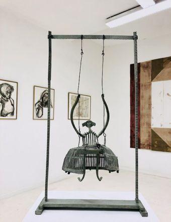 «Supports-surfaces, et après...» à la galerie Clémence Boisanté - Pierre Buraglio, André-Pierre Arnal et Louis Cane