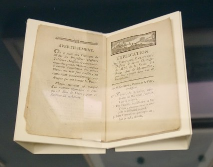 Abraham Fontanel, Catalogue du salon de 1779 - Le Musée avant le Musée au Musée Fabre