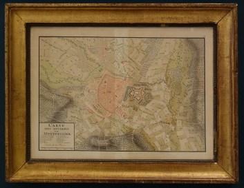 Anonyme, Plan de la ville et de la citadelle de Montpellier, Fin XVIIIe - Le Musée avant le Musée au Musée Fabre