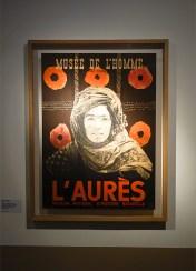 Aurès, 1935. Photographies de Thérèse Rivière et Germaine Tillion – Pavillon Populaire, Montpellier - Affiche de l'exposition L'Aurès au musée de l'Homme