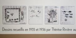 Aurès, 1935. Photographies de Thérèse Rivière et Germaine Tillion – Pavillon Populaire, Montpellier - Dessins recueillis par Thérèse Rivière