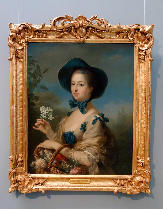 Carl Van Loo, Jeanne Antoinette Poisson, marquise de Pompadour, 1774-1775 - Le Musée avant le Musée au Musée Fabre