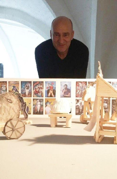 Carmelo Zagari à la galerie chantiers BoîteNoire
