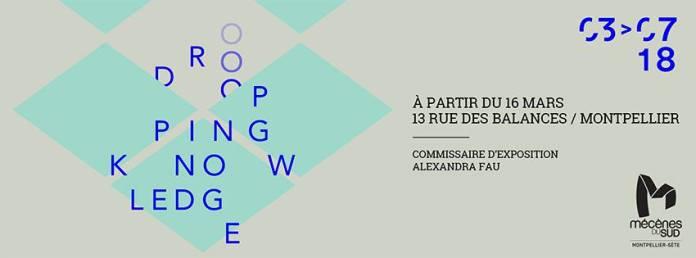 Dropping knowledge - Mécènes du sud Montpellier-Sète