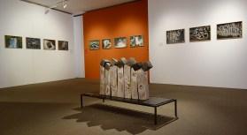 Pascal Fayeton - Vue de l'exposition «4 à 4» au Musée Paul Valéry - Sète