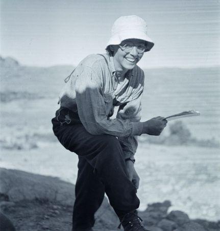 Thérèse Rivière en mission dans l'Aurès, 1935-1936 © Germaine Tillion ou Jacques Faublée
