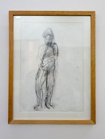 Adel Abdessemed, Joueur de flûte, 1996 - J'♥ Avignon à la Collection Lambert