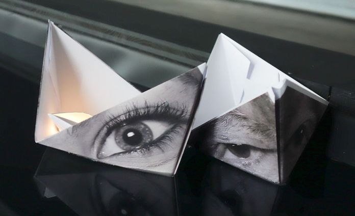 Amor Fati – Carte blanche à JR au J1 - Marseille - Vue de l'installation