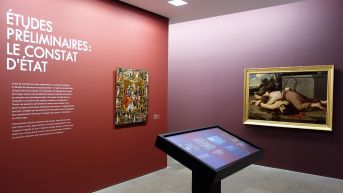 Dans le Secret des œuvres d'art au Musée Fabre - Etudes prémiminaires - le constat d'état