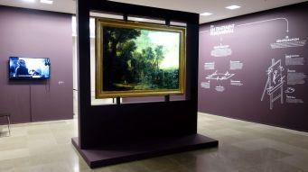 Dans le Secret des œuvres d'art au Musée Fabre -Une œuvre invisible - le paysage à l'auberge d'Herman van Swanevelt