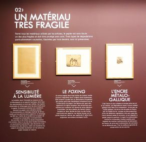 Dans le Secret des œuvres d'art au Musée Fabre - Une restauration sauvetage avec deux dessins de Jacob Philipp Hackert