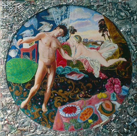 Marie Ducaté, Nu dans un cercle, 1983