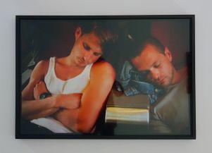 Nan Goldin, Jens and Clems in the train to Avignon, 1999 - J'♥ Avignon à la Collection Lambert