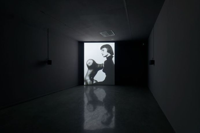Simon Starling, El Eco, 2014. À l'ombre du pin tordu, vue de l'exposition au Mrac, Sérignan, 2017. Photographie Aurélien Mole