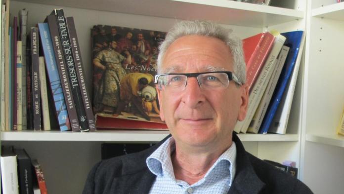 Zeev Gourarier, directeur scientifique du Mucem à Marseille. © Mucem