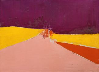 Nicolas de Staël, Agrigente, 1954, huile sur toile, 60 x 81 cm, collection privée/Courtesy Applicat-Prazan, Paris © Adagp, Paris, 2018, photo : © Comité Nicolas de Staël