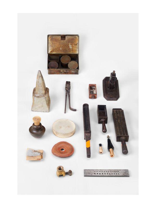 Outils de joaillerie, France, Bergues, milieu du XIXe-début du XXe siècle. Mucem, Marseille © Mucem / Yves Inchierman
