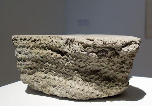 Asier Mendizabaln sin titulo (cesta 2), 2015 - Un désir d'archéologie à Carré d'art - Nîmes
