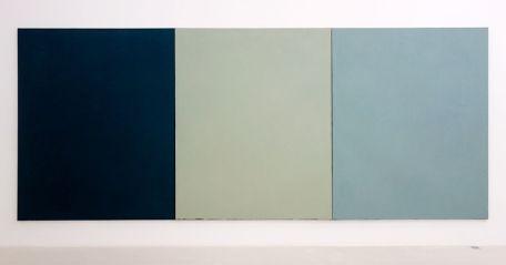 Brice Marden, Mur chez Lambert, 1973 - Djamel Tatah à le Collection Lambert -vue de l'exposition salle 1