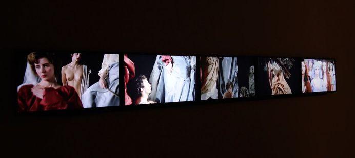 Clemens Von Wedemeyer, The Beginning. Living Figures dying, 2013 - Un désir d'archéologie à Carré d'art - Nîmes