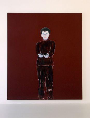 Djamel Tatah, Sans titre, 2016 - Collection Lambert - Vue de l'exposition, salle 6