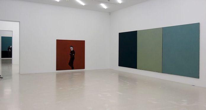 Djamel Tatah et Brice Marden - Djamel Tatah à le Collection Lambert -vue de l'exposition salle 1