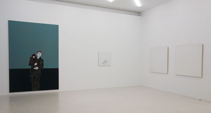 Djamel Tatah et Robert Ryman - Collection Lambert - vue de l'exposition salle 3