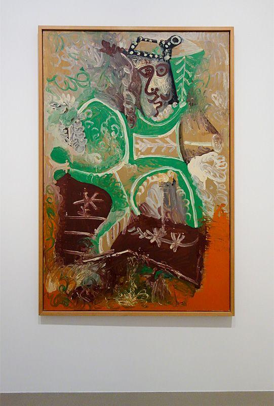 Pablo Picasso, Le viel homme, 25 septembre 1970 - Soleil Chaud, soleil tardif à la Fondation Vincent van Gogh Arles