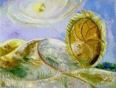 Paul Nash. Solstice of the Sunflower, 1945 Huile sur toile, 71,3 x 91,4 cm Musée des beaux-arts du Canada, Ottawa