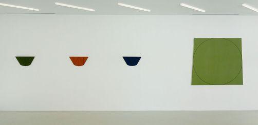 Robert Mangold - Collection Lambert - Vue de l'exposition, salle 6