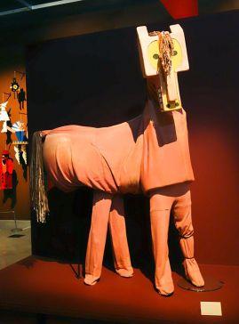 Ballet Parade, Costume du Cheval, Opera di Roma - Picasso et les Ballets russes, entre Italie et Espagne au Mucem