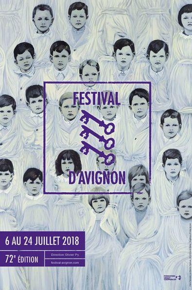 Claire Tabouret, Affiche 72e Festival Avignon