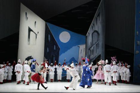 Extraits du ballet Pulcinella au Teatro dell'Opera di Roma, 2009 - Picasso et les Ballets russes, entre Italie et Espagne au Mucem