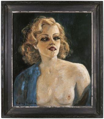 Francis Picabia, La main mystérieuse, vers 1938-1942 Huile sur panneau double face, 65 x 54 cm Musée d'art moderne et contemporain, Strasbourg © ADAGP, Paris 2018