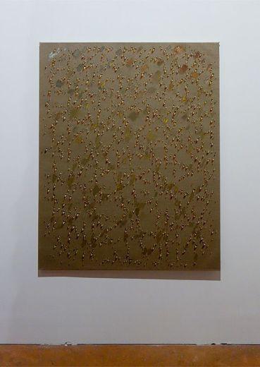 Kim Tschang-Yeul - L'Événement de la nuit à la chapelle du Méjan – Arles -Vue de l'exposition, niveau 0 - quatrième chapelle à droite