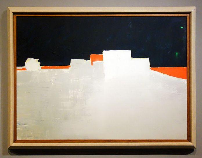 Nicolas de Staël, Agrigente, 1953 - Hôtel de Caumont - Salle 9 - Les nuits d'Agrigente