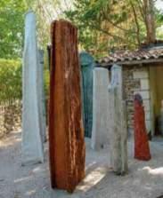 Odile de Frayssinet, Totems 2 2008-2015 - Tissage / Tressage... quand la sculpture défile à la Villa Datris