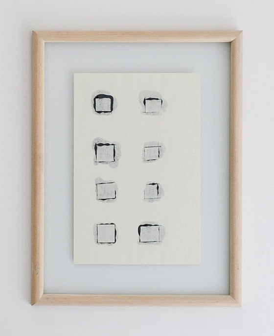 Toni Grand, format peinture, 1970-71, papier Ingres, 69,5 x 52,5 x2,5 cm © David Huguenin